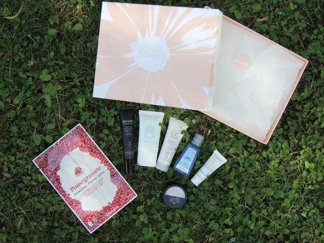 revue avis test lookfantastic beauty box avril 2017 natural beauty