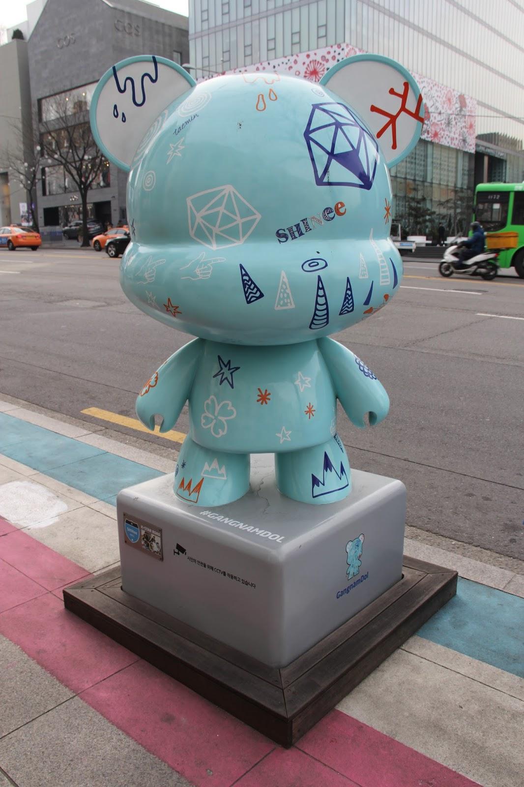 Korea Trip Day 5 Part 1 Gangnam K Star Road Sm Town