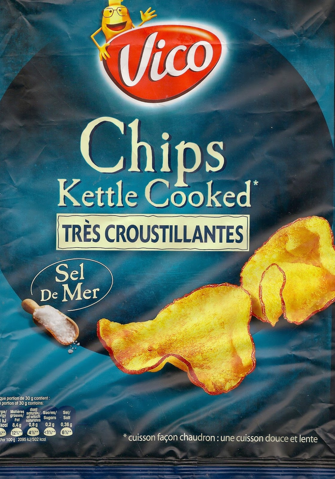 Cheeseburger Crisps & Other Stories: Vico Chips Kettle Cooked Très ...