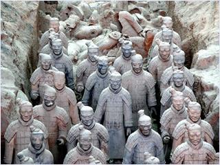 กองทัพทหารดินเผา (The Terracotta Warriors)