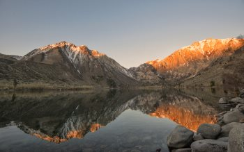 Wallpaper: Dream view from Convict Lake
