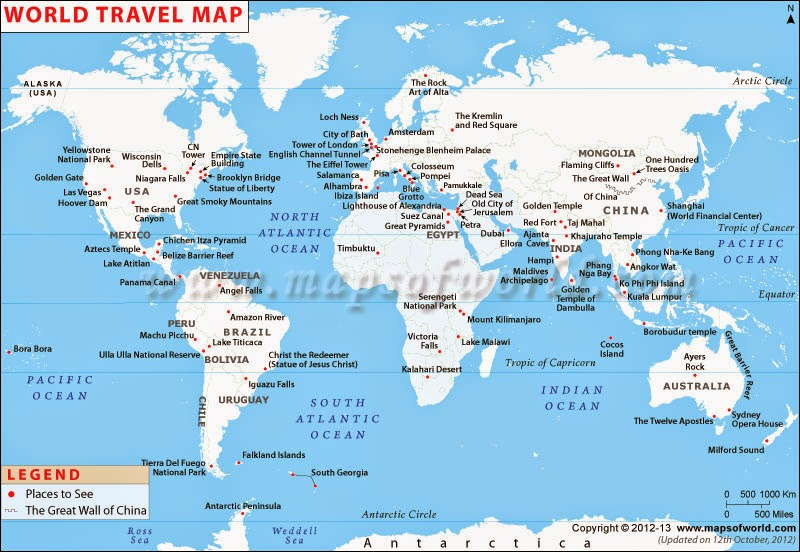 Where To Find Travel Maps For Your Trip