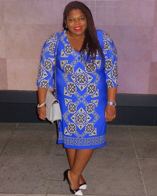 dc plus size style blogger