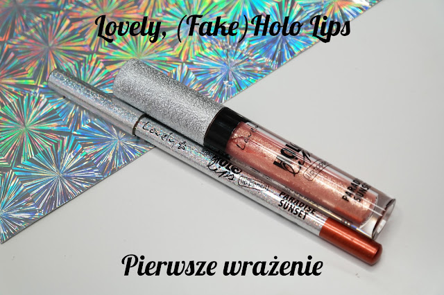 Lovely Holo Lips Lip Kit