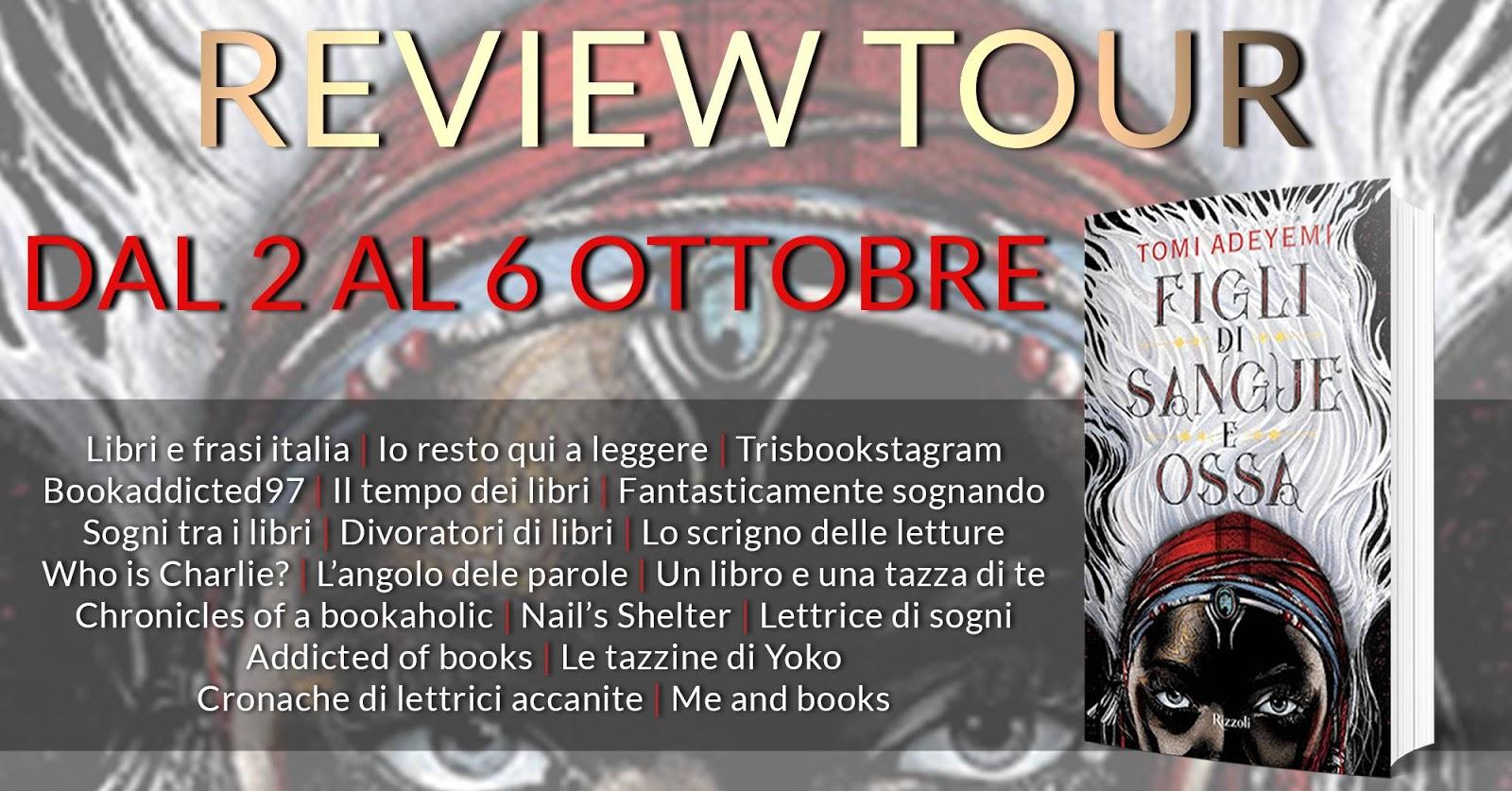 Chronicles Of A Bookaholic Review Tour Figli Di Sangue E Ossa Di
