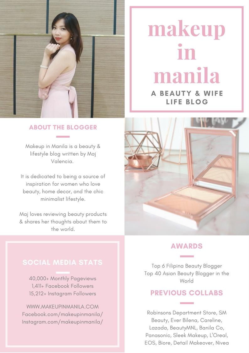 Beauty Lifestyle Blogger Media Kit