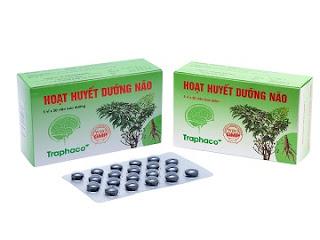 Thuốc bổ não hoạt huyết dưỡng não Traphaco