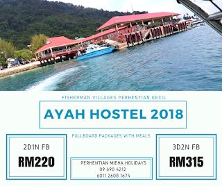 Pakej Bajet Murah 2018 - AYAH HOSTEL 2018