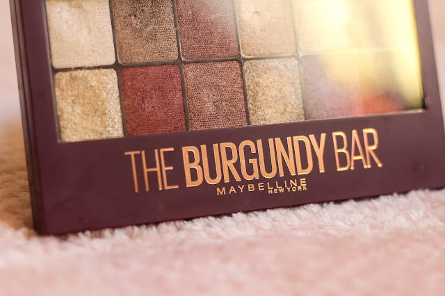 The Burgundy Bar eyeshadow palette review