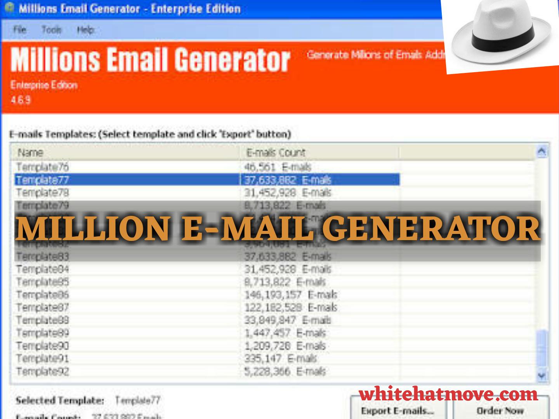 email genarator