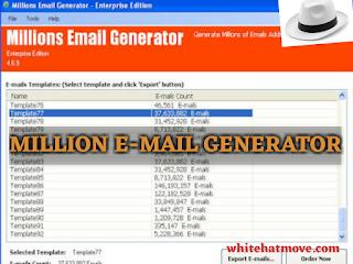 Millions Email Generator