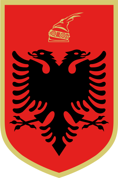 Lambang negara Albania