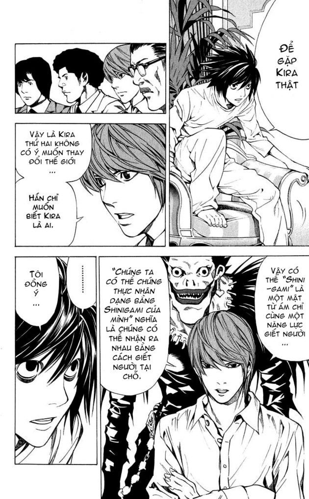 Death Note chapter 027 trang 5