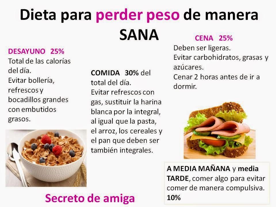 dieta de harina para bajar de peso