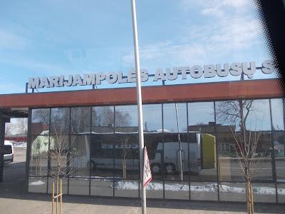 Marianpol: dworzec autobusowy