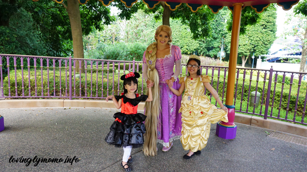 Rapunzel - Hong Kong Disneyland magic