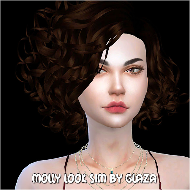 MOLLY LOOK SIM BY GLAZA