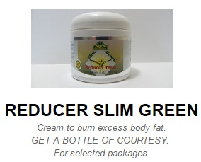slim green reduce cream
