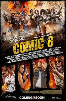 Sinopsis film Comic 8 (2014)
