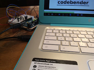 Chromebook and CodeBender