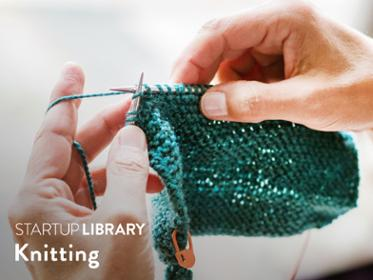 Startup Library Knitting