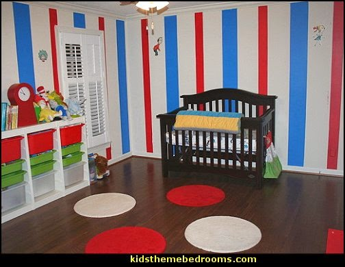 Dr Seuss Inspired Rooms