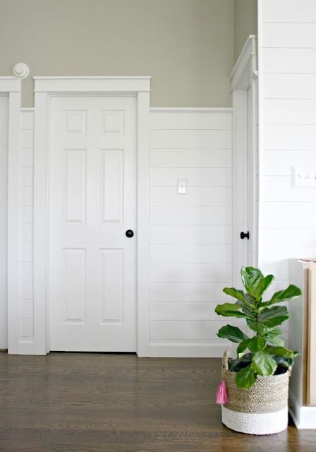How to add shiplap to walls for less