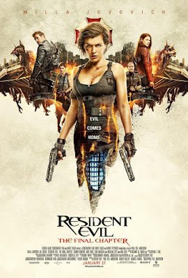 Resident Evil: The Final Chapter 2017 DVD Custom NTSC Latino V6