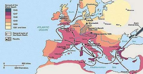 Mystery Of Black Death The Deadly Black Plague