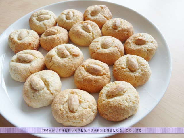 Almond Macaroons - Gluten Free, Dairy Free - Great for Passover/Pesach