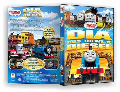 DVD – Thomas E Seus Amigos Dia Dos Trens A Diesel-2018 – ISO