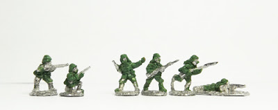 Turkish infantry x 2 / Arab infantry x 4