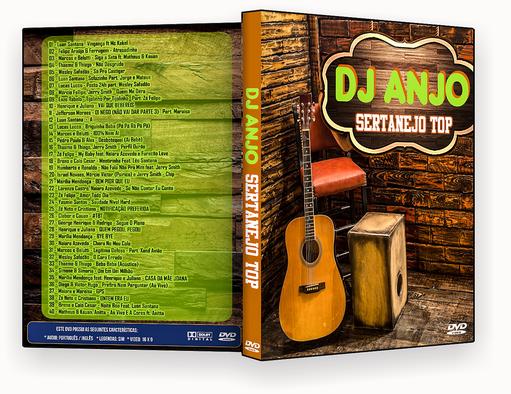 CAPA DVD – Dj Anjo Sertanejo Top – ISO