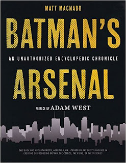 Batman's Arsenal: An Encyclopedic Chronicle Batman Book