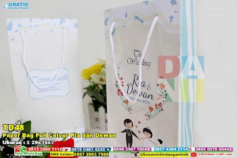 Paper Bag Full Colour Ria Dan Dewan