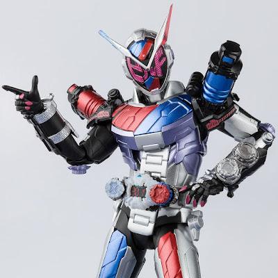 SH Figuarts Kamen Rider Zi-O Build Rabbit Tank Armor