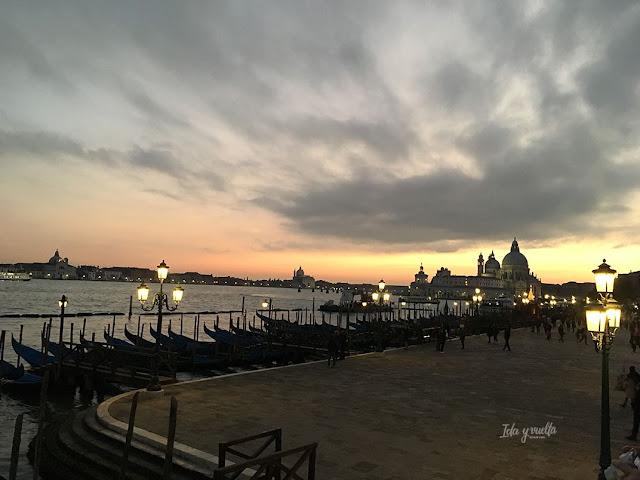 Qué hacer Venecia paseo al atardecer