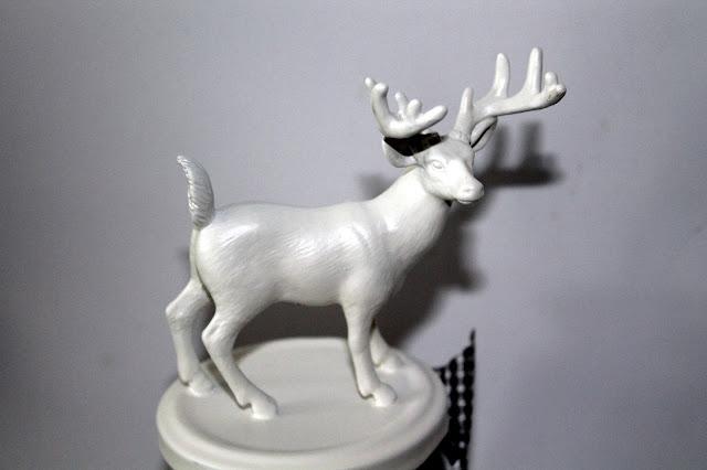 DIY, Basteln: Vorratsgläser, Weihnachtsgläser mit Hirschen und Rehen in Weihnachtsdekoration, Wohndekoration und Geschenkideen - DIYCarinchen