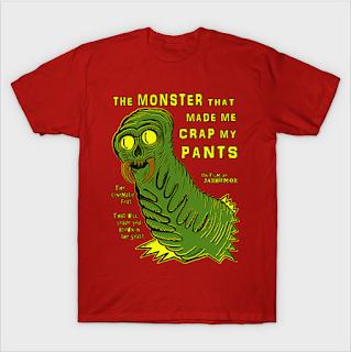 Horror movie monster parody by JARHUMOR