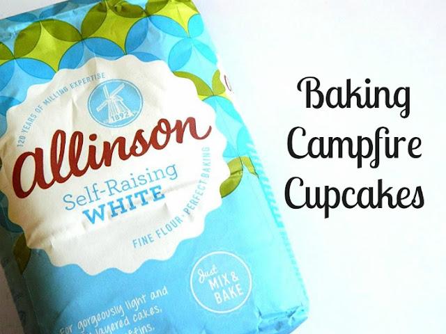 Campire Cupcakes, Baking