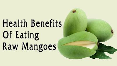 Health Benefits of Eating Raw Mangoes
