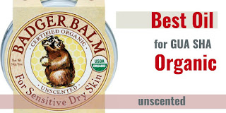 unscented gua sha oil