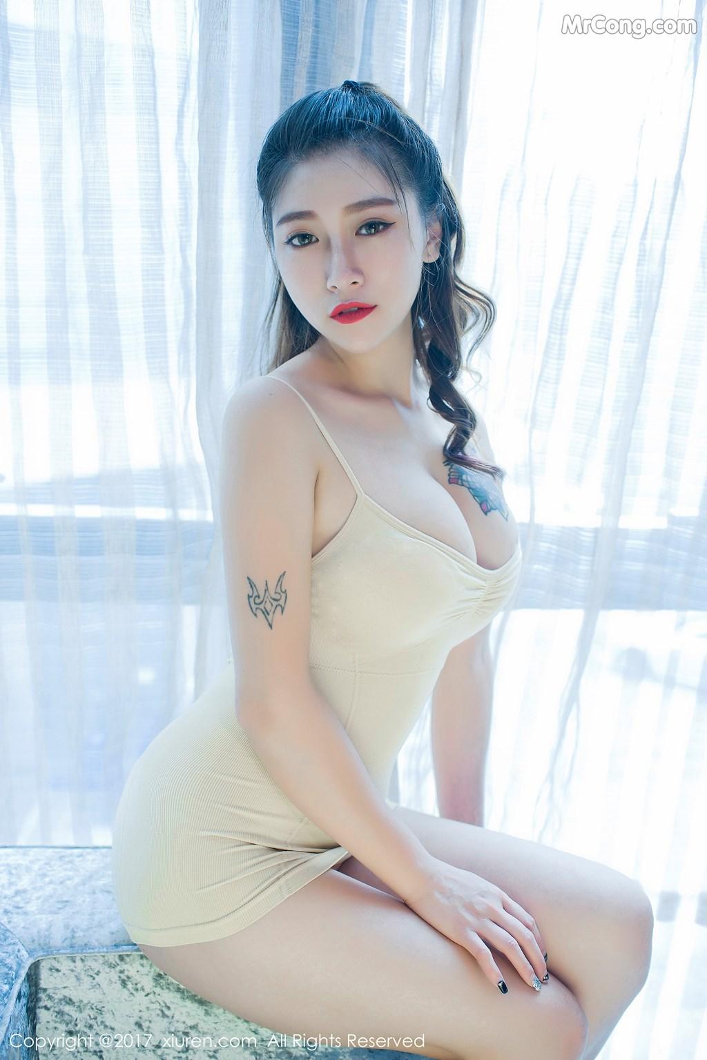 Image XIUREN-No.812-Du-Hua-Hua-MrCong.com-033 in post XIUREN No.812: Người mẫu Du Hua Hua (杜花花) (48 ảnh)