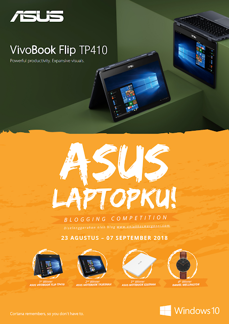 ASUS Laptopku - Blogging Competition