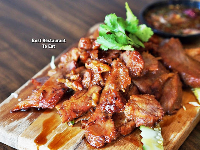 Thai BBQ Grilled Pork Neck