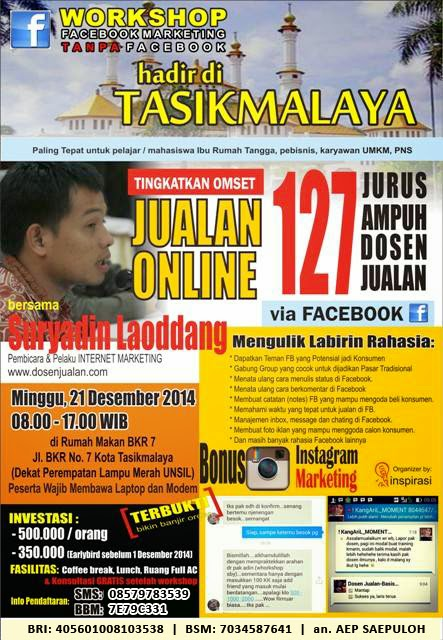 Workshop Facebook Marketing
