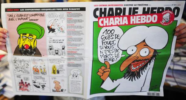 @rifkiadhis: Charlie Hebdo Berulah Lagi Dengan Membuat