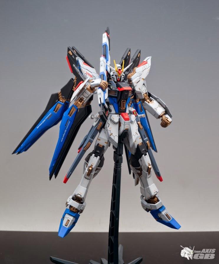 Custom Build: MG 1/100 ZGMF-X20A Strike Freedom Gundam ...