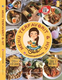 Menu Terfavorit dan Hit dari instagram Cooking With Sheila- Full Colour