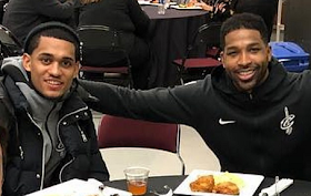 Tristan Thompson Seen In Public For The First Time Since Scandal And It Seems His Whole Teammates Are With Him
